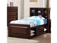 Jerico Collection Twin Storage Bed