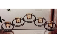 Classy Metal candle Holder - Damaceen.com