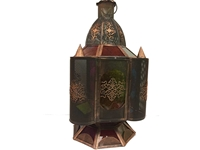 Antique Gold Moroccan Lantern