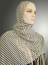 Stripes Prints Shawl # 650