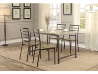 Home Eleglance - 5-Piece Pack Dinette Set