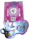 DISNEY PRINCESS 4 PIECE TABLEWARE SET