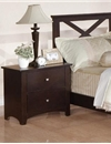Poundex Night Stand - F4573(743) by New Furniture 4 Less