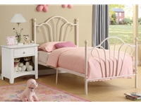 Poundex - F9071T - Twin Bed