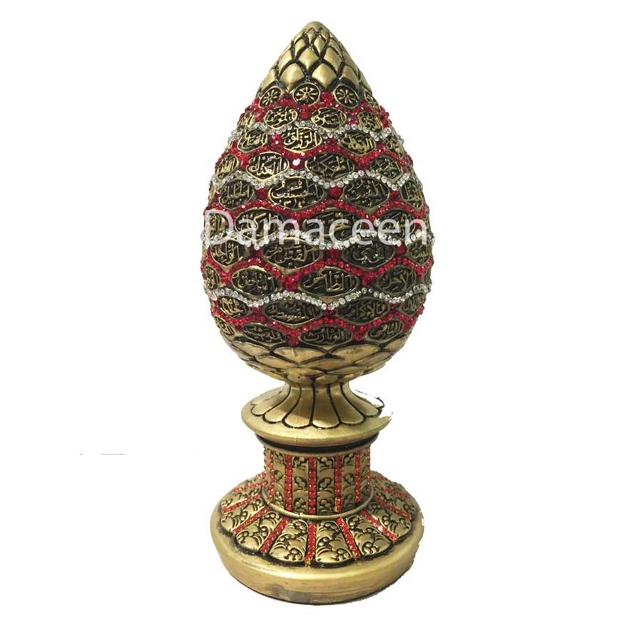 egg shape engraved