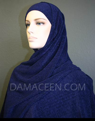 Lycra Shawl With Matching Cap #479