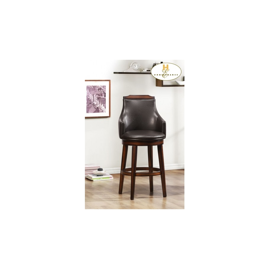 Home Eleglance - Swivel Pub Height Chair