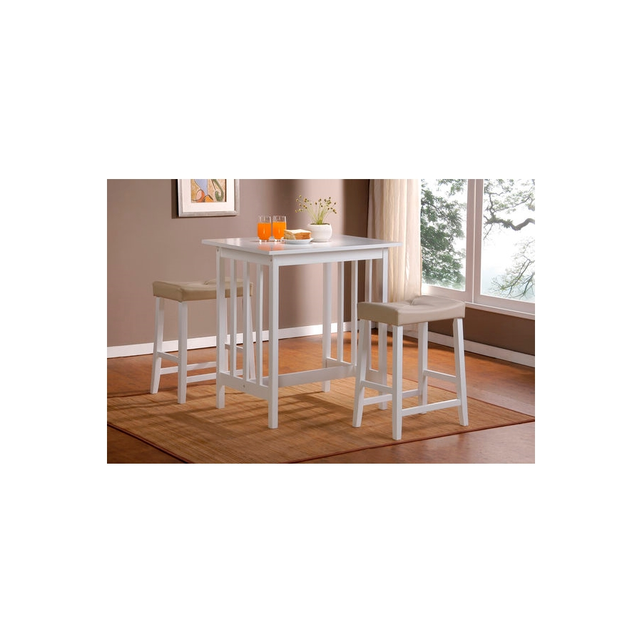 Home Eleglance- 3-Piece Pack Counter Height Set