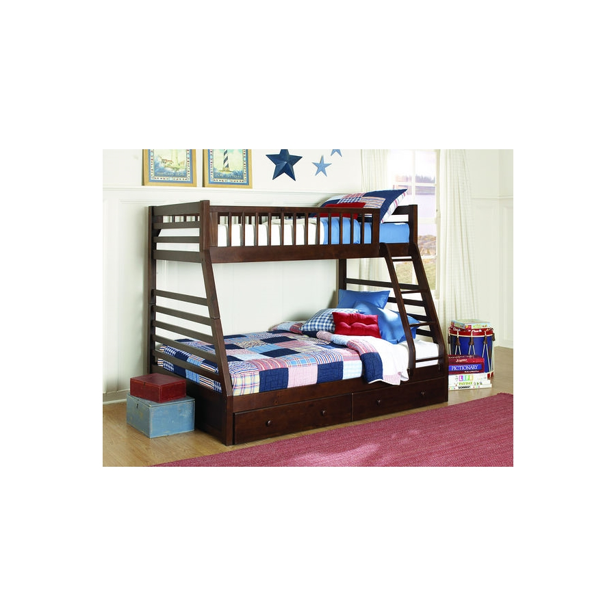 Home Eleglance -Twin/Full Bunk Bed