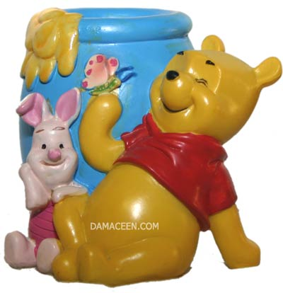 WINNIE THE POOH AND PIGLET FIGURINE- COLLECTOR'S ITEM