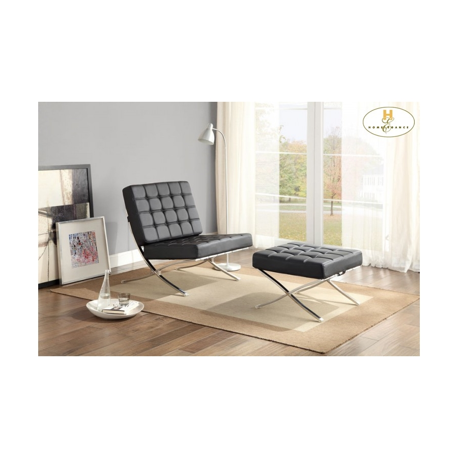 Home Eleglance - Chair, Black