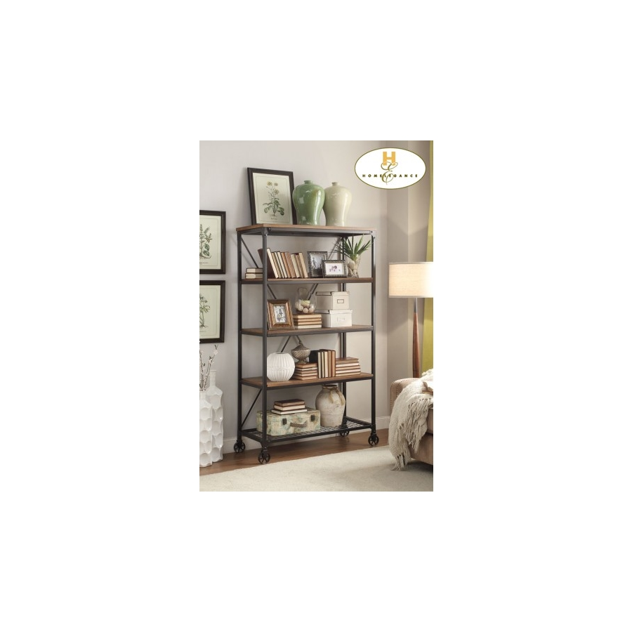 "Home Eleglance - 40"" W Bookshelf"
