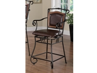 Coaster NF4L-100159 Metal Bar Stool