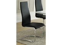 Coaster NF4L-100515BLK Black Dining Chair