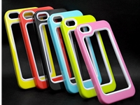 Hybrid 2 Layer Bumper Case For Apple iPhone 5,5S, 5C Phone