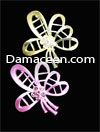 Rhinestone Flower Pin Brooch #1384
