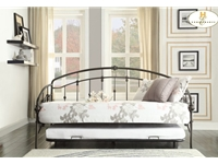 Home Eleglance - Metal Daybed with Trundle