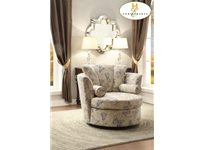 Home Eleglance - Swivel Accent Chair with 2 Pillows