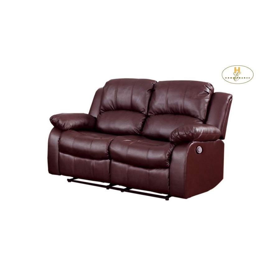 Home Eleglance- Power Double Reclining Love Seat