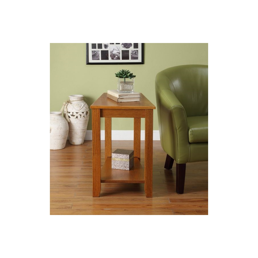 Home Eleglance - Chairside Table, Oak